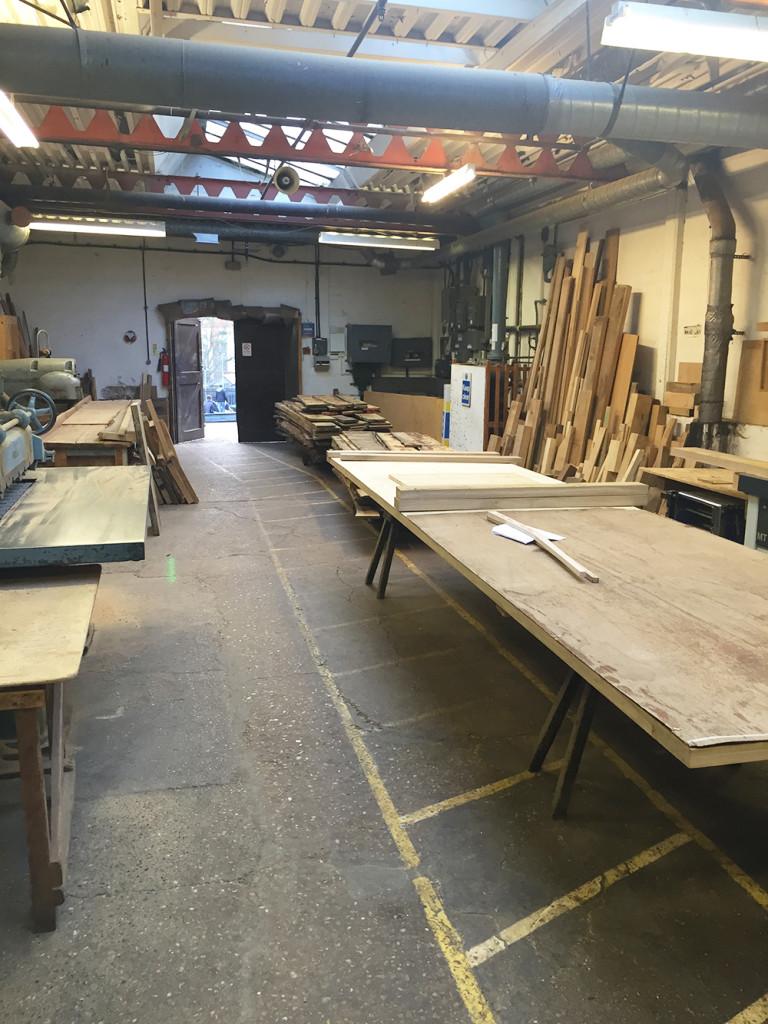 Titchmarsh & Goodwin machine shop