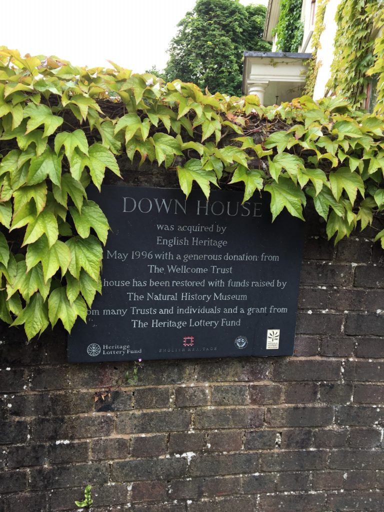 The entrance of Down House