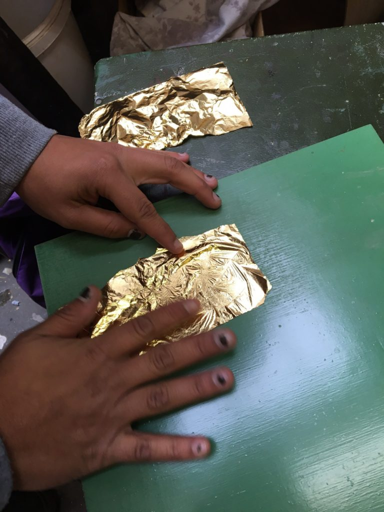 Gold Sheets for furniture