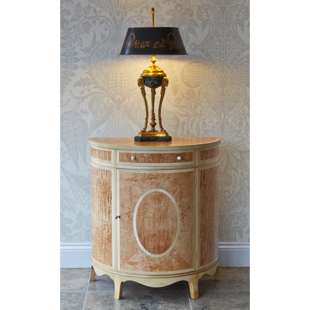 Karelian Birch Commode