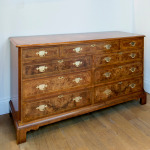 This walnut double chest is in our sale at 40% off