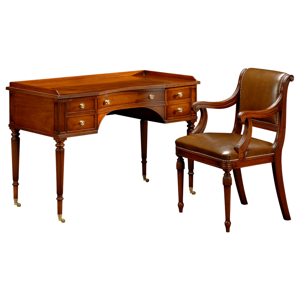 oak kitchen cabinet mahogany dressing table desk titchmarsh amp goodwin 23848