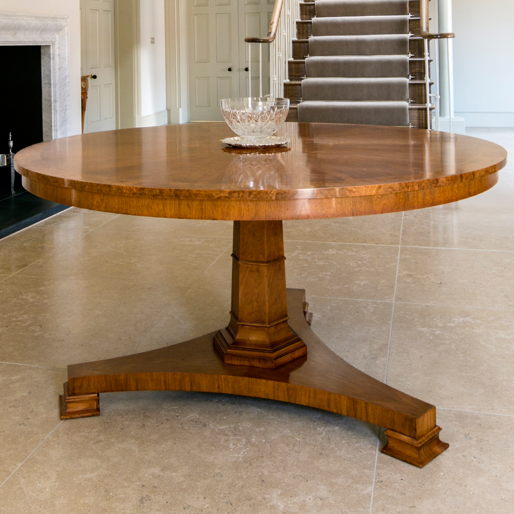 Walnut centre table