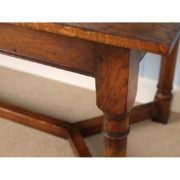 up close wooden style table