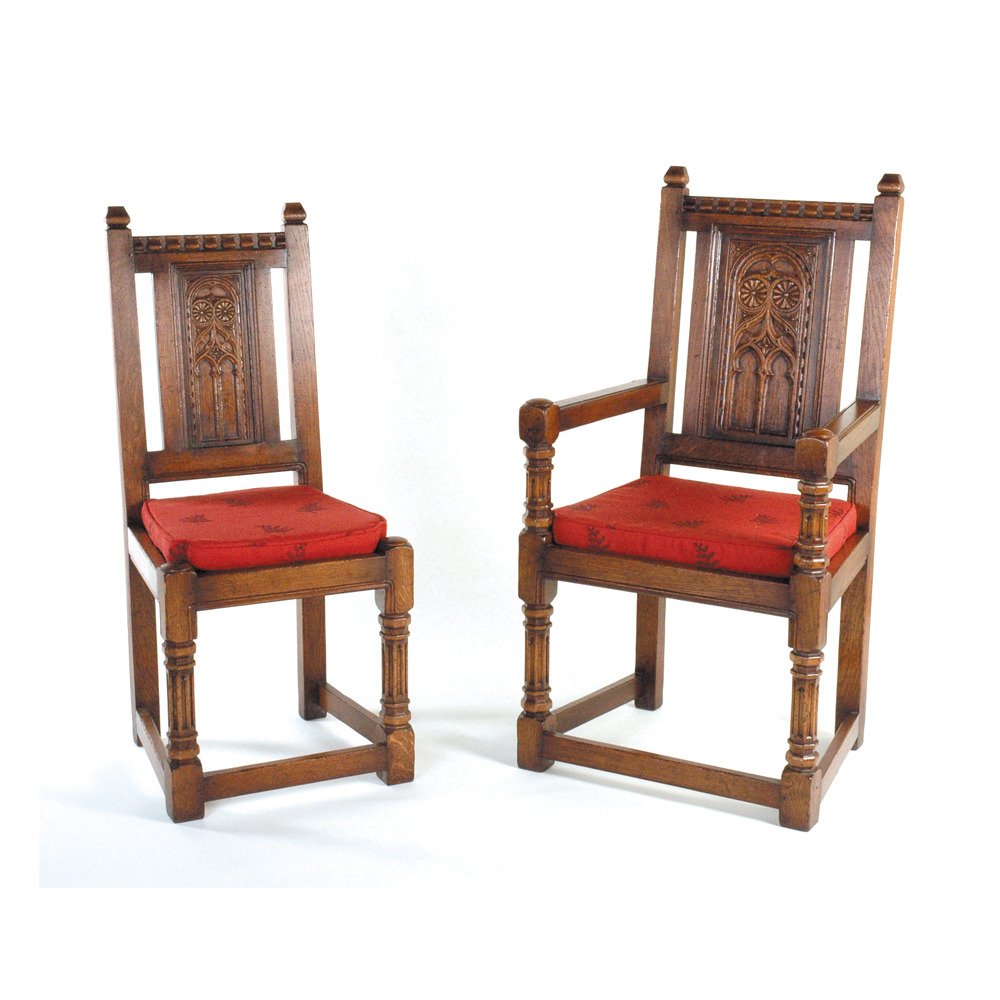 Medieval Gothic chairs