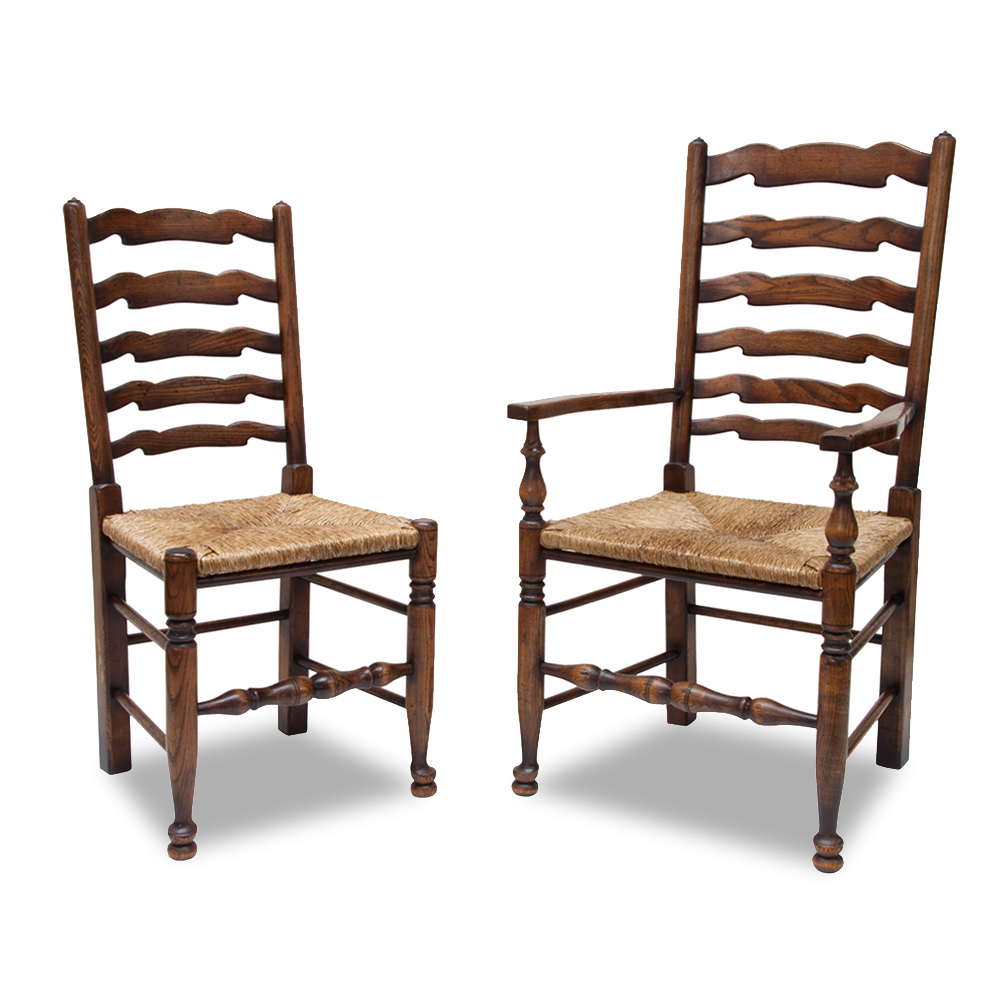 Ladderback chairs