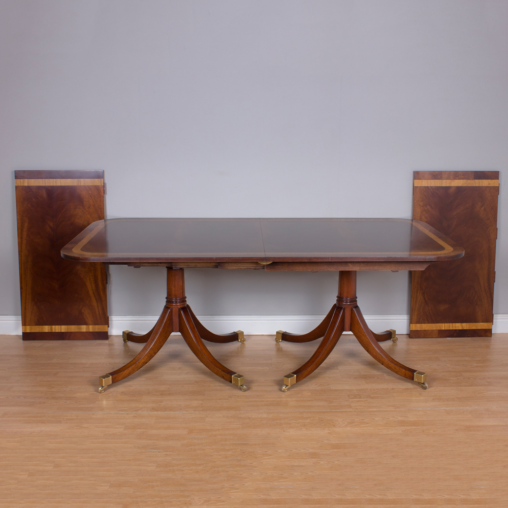 Extending Mahogany table reduced from £13,500 to £4,000