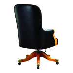 Swivel chair back