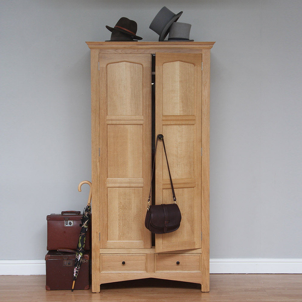 Natural Oak Wardrobe