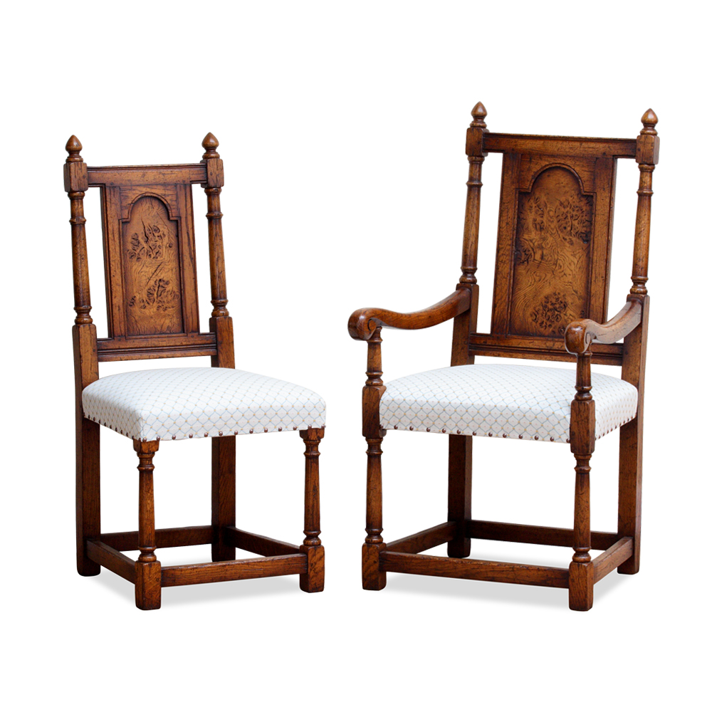 Epicormic Oak Chair