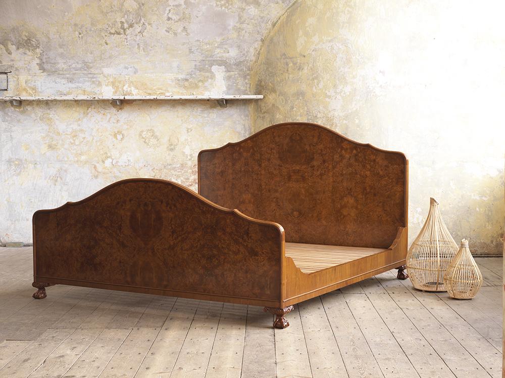 Our piece de resistance, this fabulous walnut bed