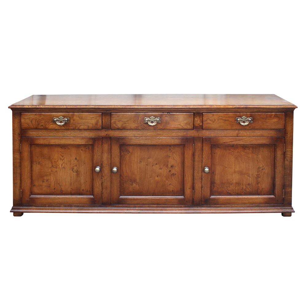 Character English Oak Dresser Base