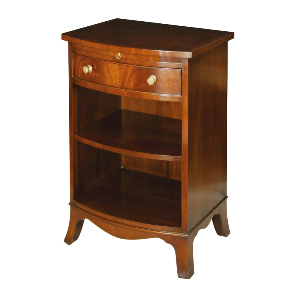 Mahogany Bedside Cabinet with slide