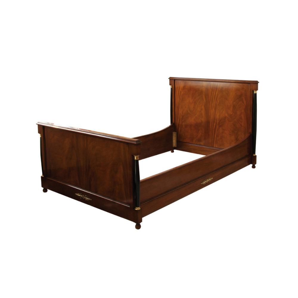 Mahogany Russian Bed