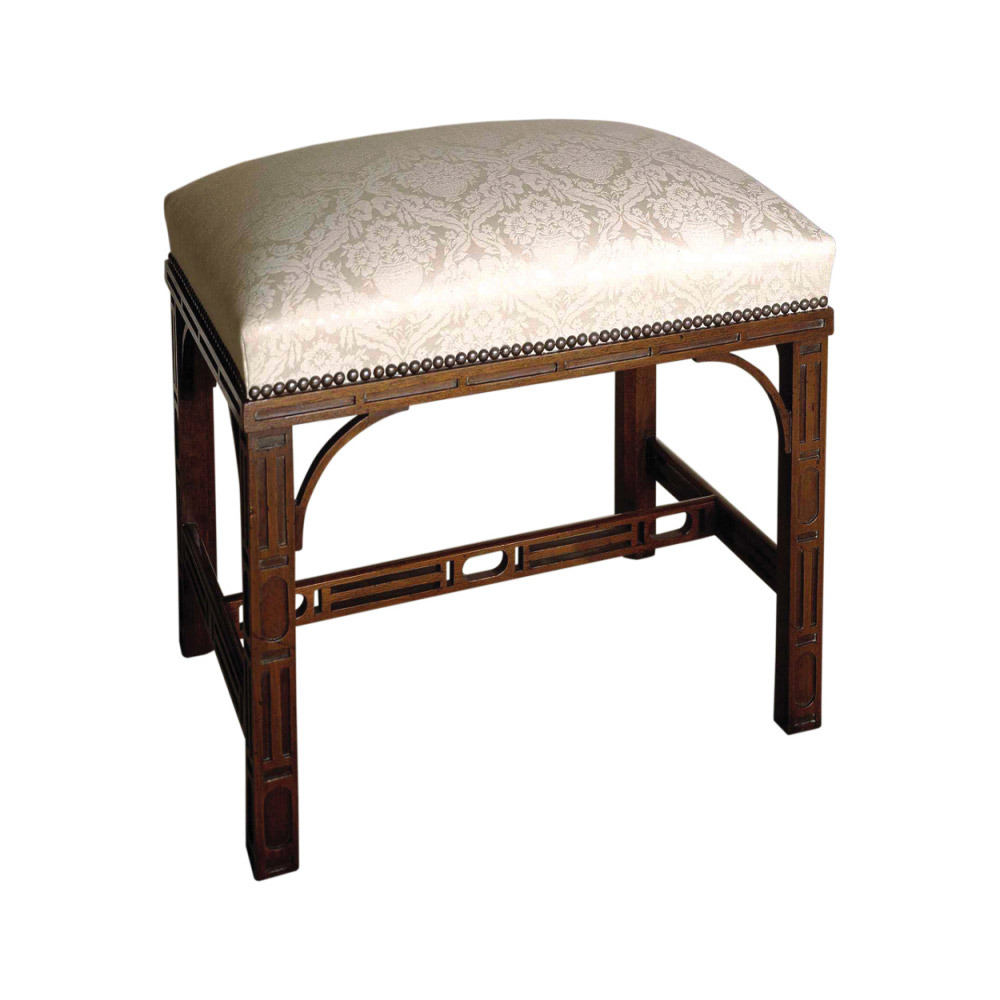 Mahogany Dressing Stool
