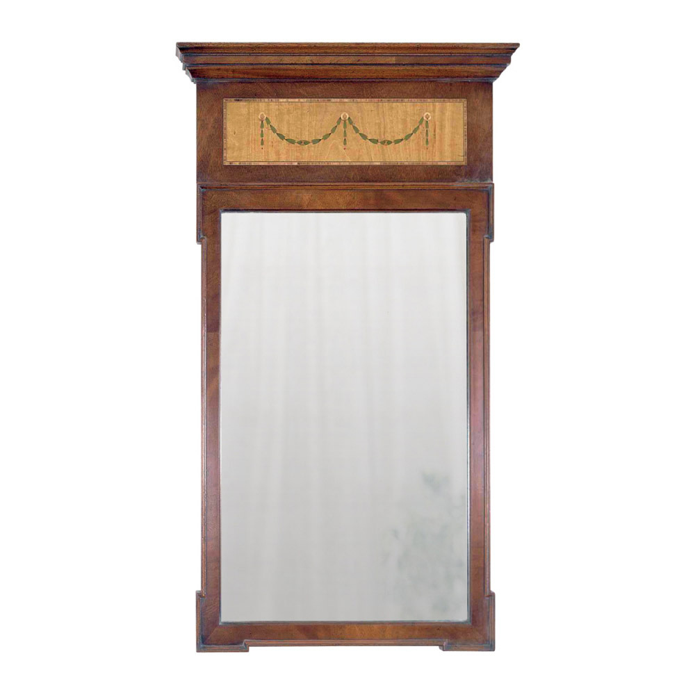 Mahogany & Satinwood Mirror