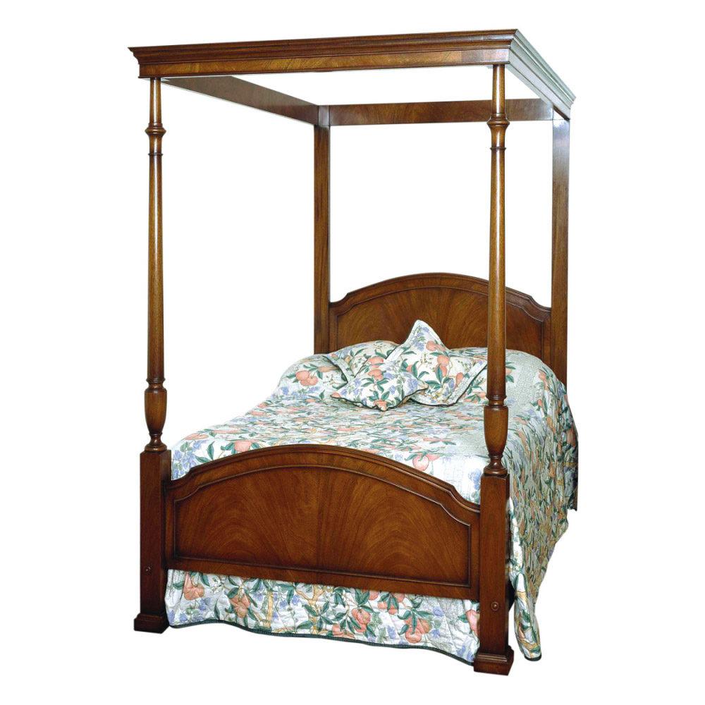 Mahogany 4-Poster Bed