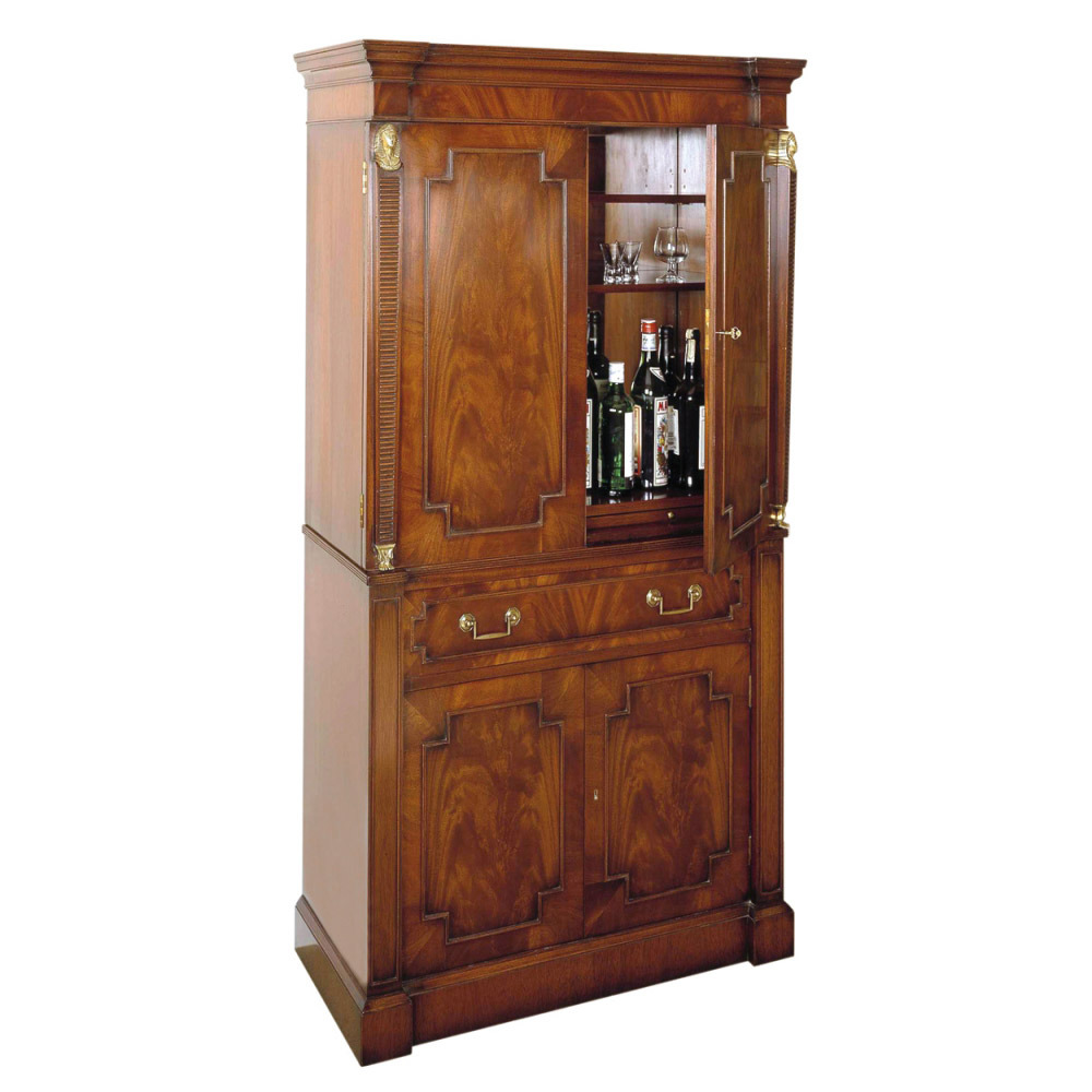 Mahogany Cocktail Cabinet