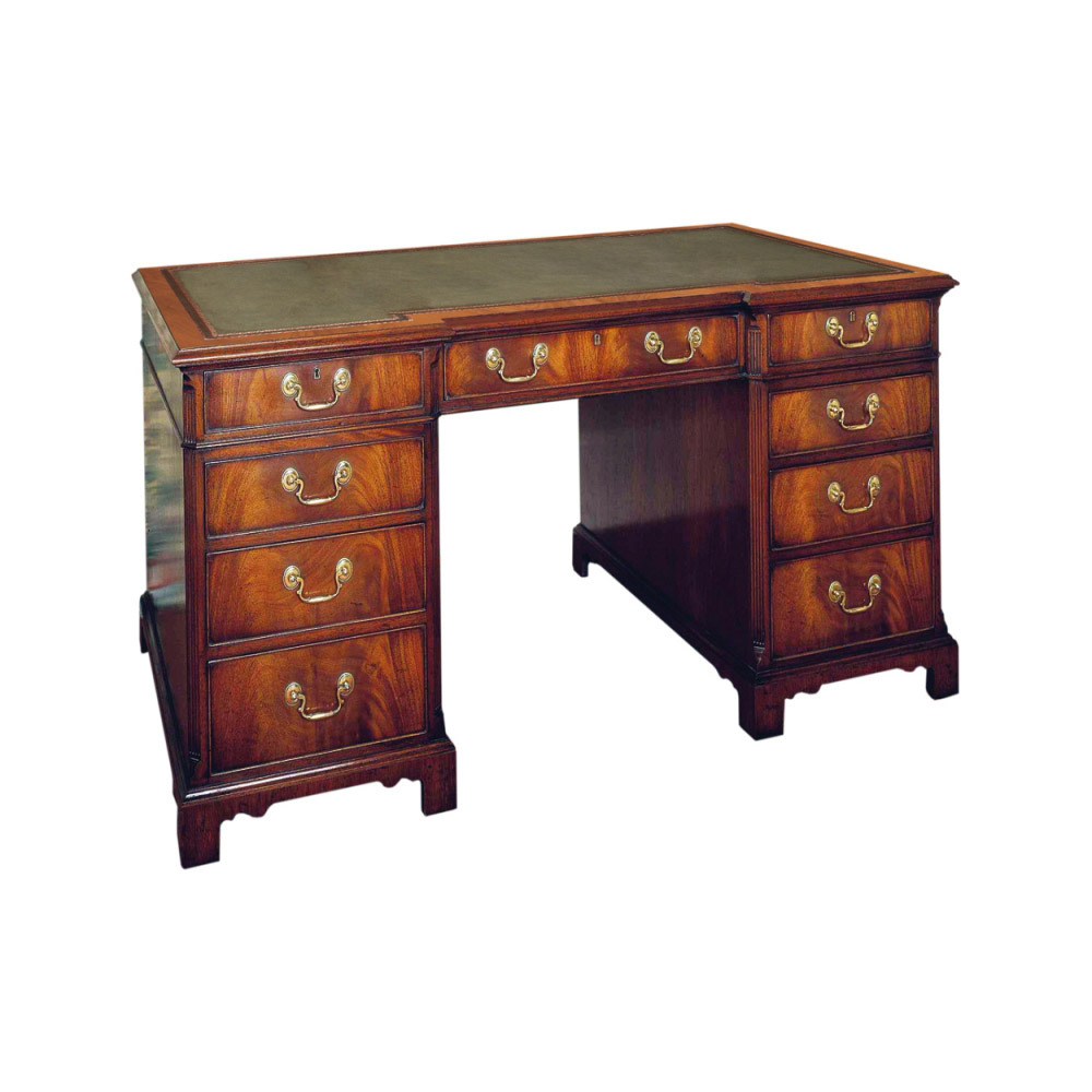 Mahogany Kneehole Desk