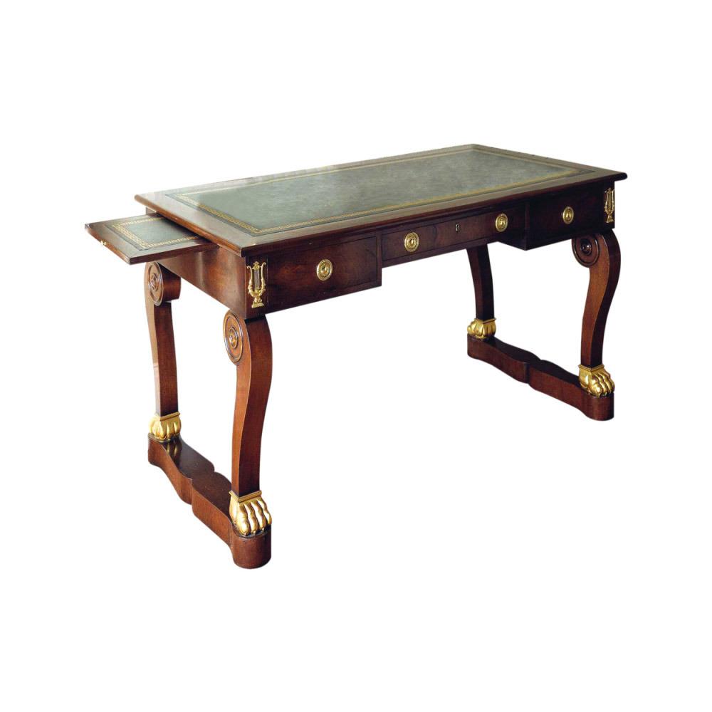 Mahogany Empire Writing Table