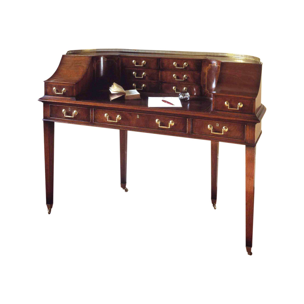 Mahogany Carlton House Writing Table