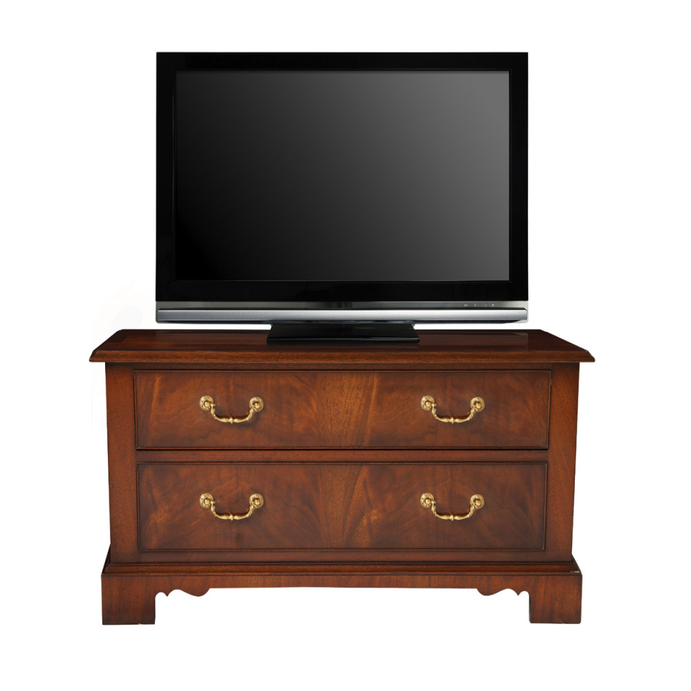 Mahogany Widescreen Television Chest