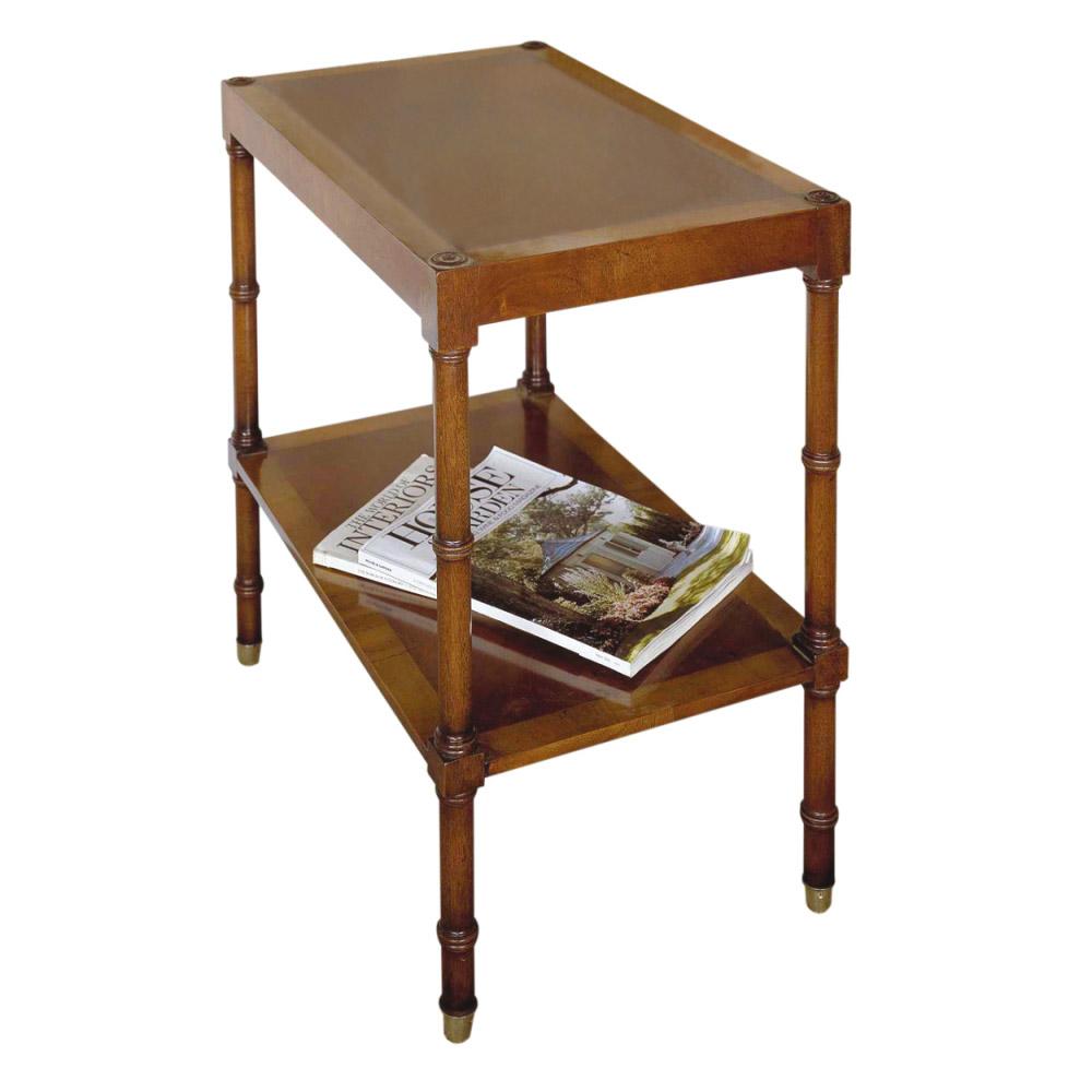 Mahogany & Satinwood End Table