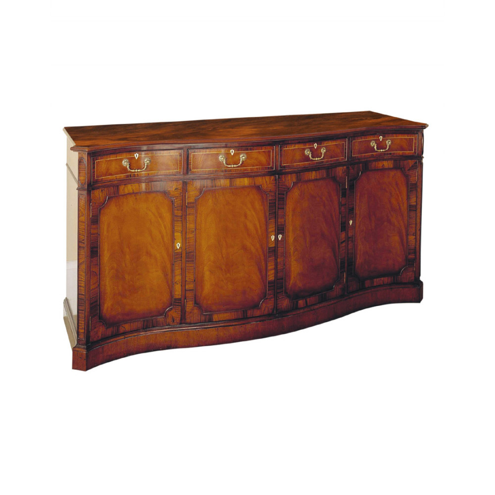 Mahogany Sideboard with Rosewood Crossbanding