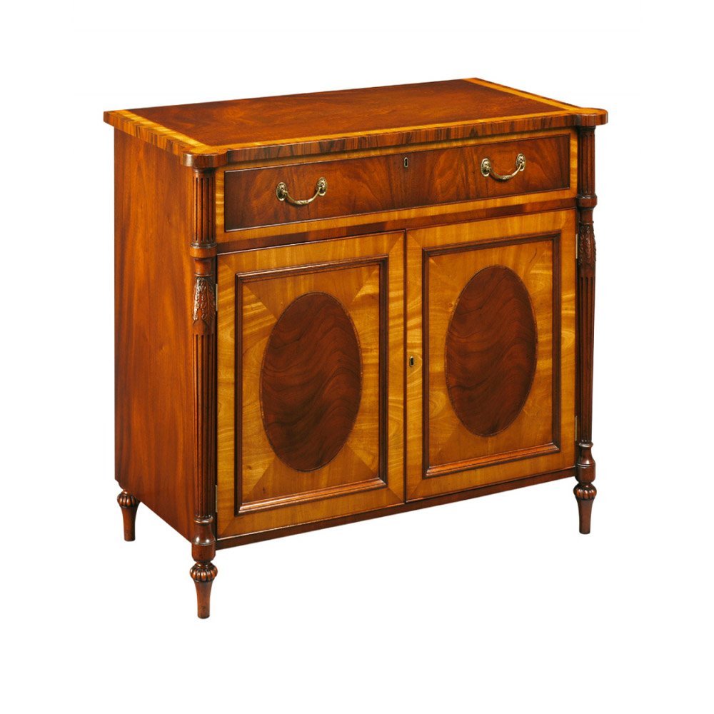 Mahogany & Satinwood Sideboard