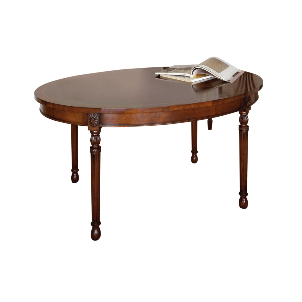Oval Oak Coffee Table Uk: Mahogany Oval Coffee Table