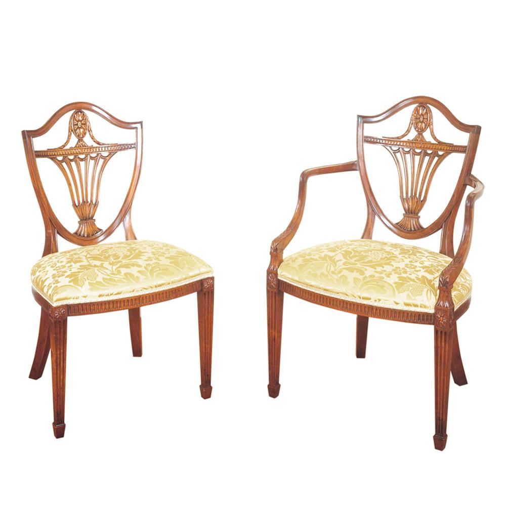 Mahogany Hepplewhite Chairs