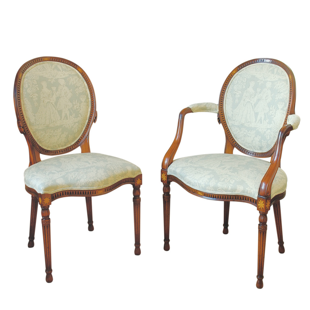 Mahogany Hepplewhite Chair