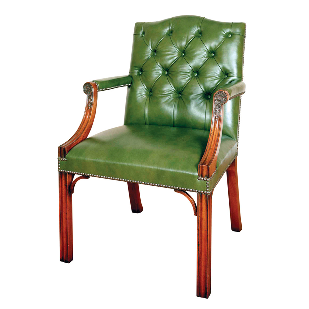 Mahogany Gainsborough Armchair