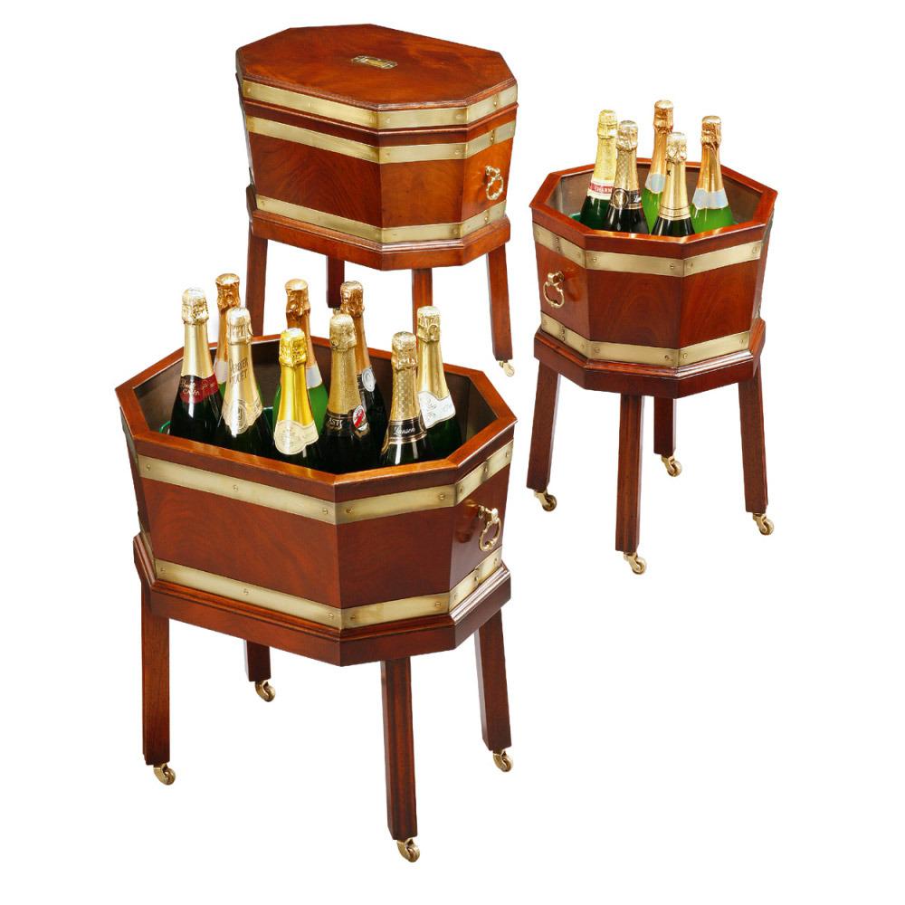 Mahogany Wine Coolers
