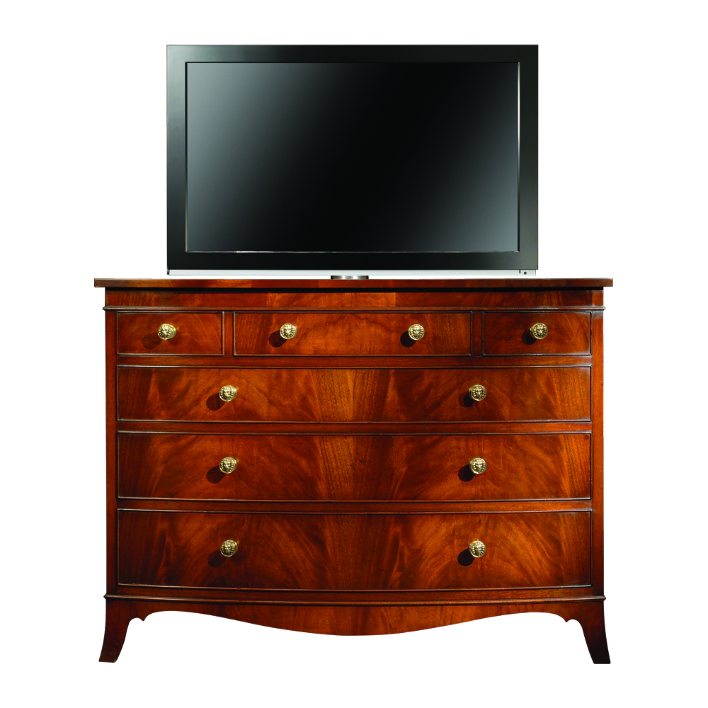 Mahogany Rise & Fall Chest of Drawers