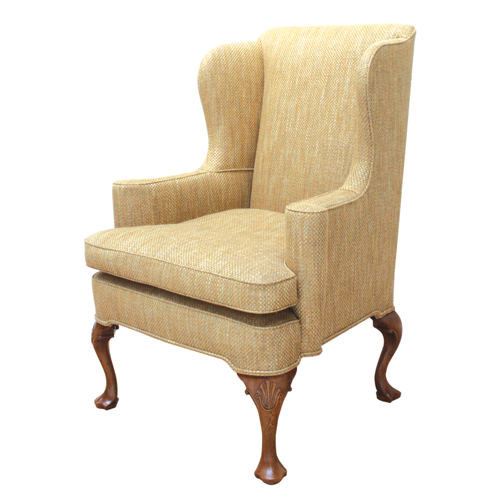 Walnut Wingchair