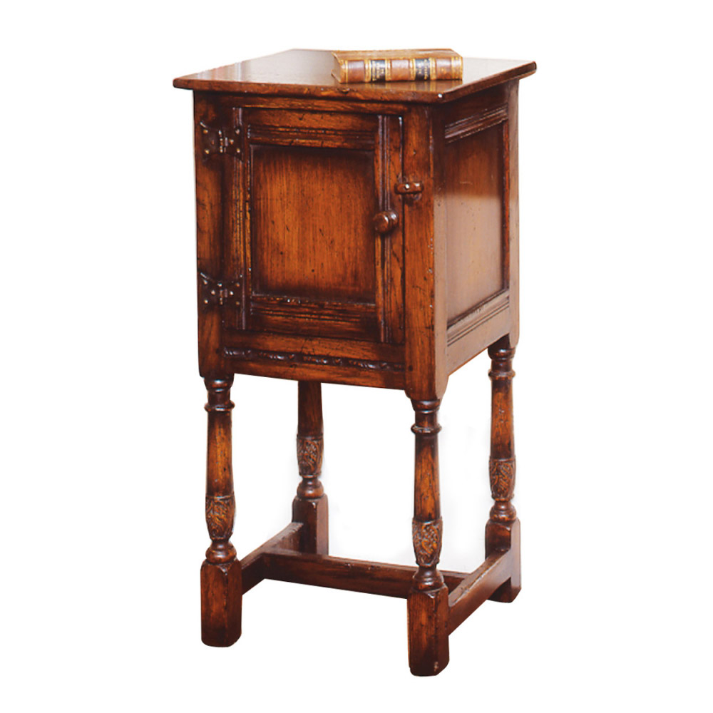 English Oak Bedside Cupboard