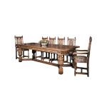 Oak Elizabethan Refectory Table