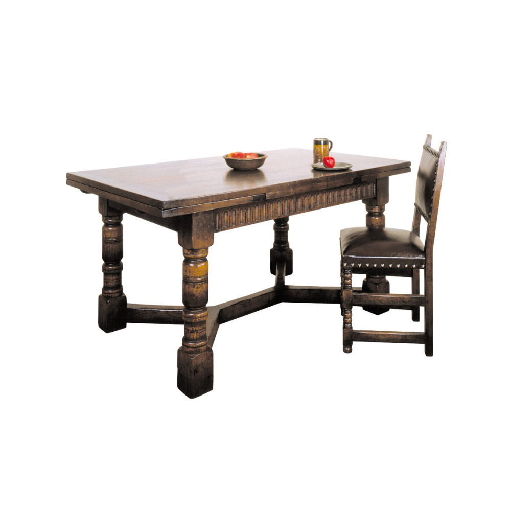 English Oak Drawtop table