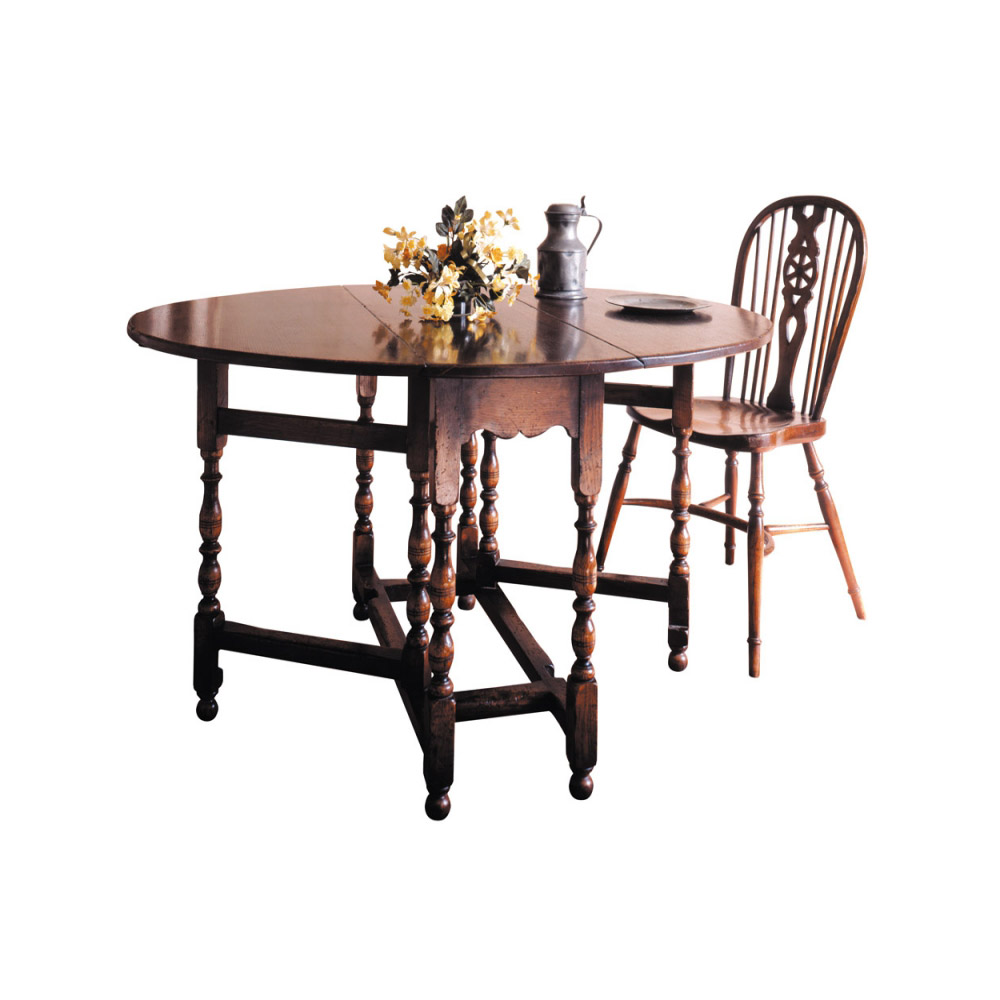 English Oak Antique Gateleg Table