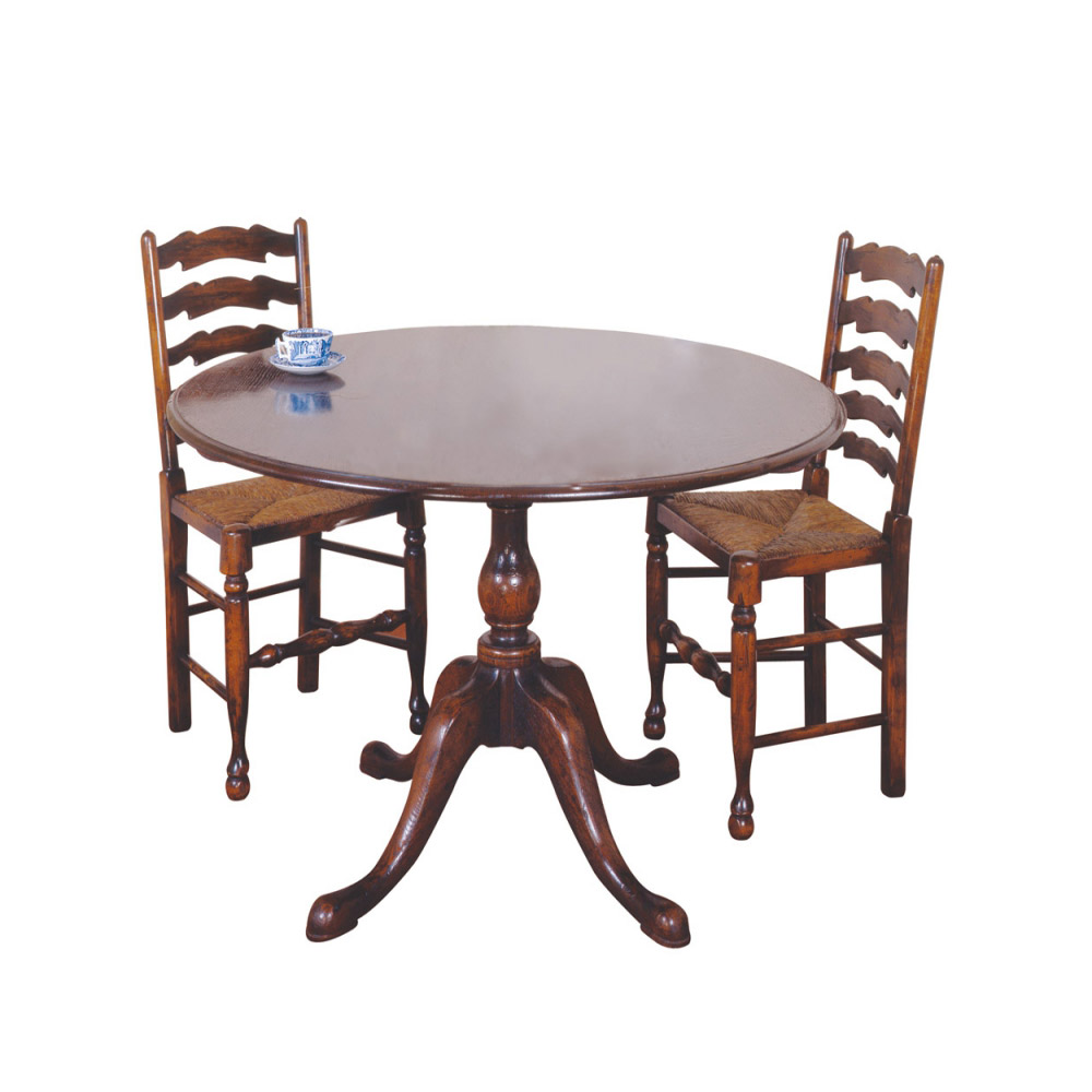Circular Oak Table