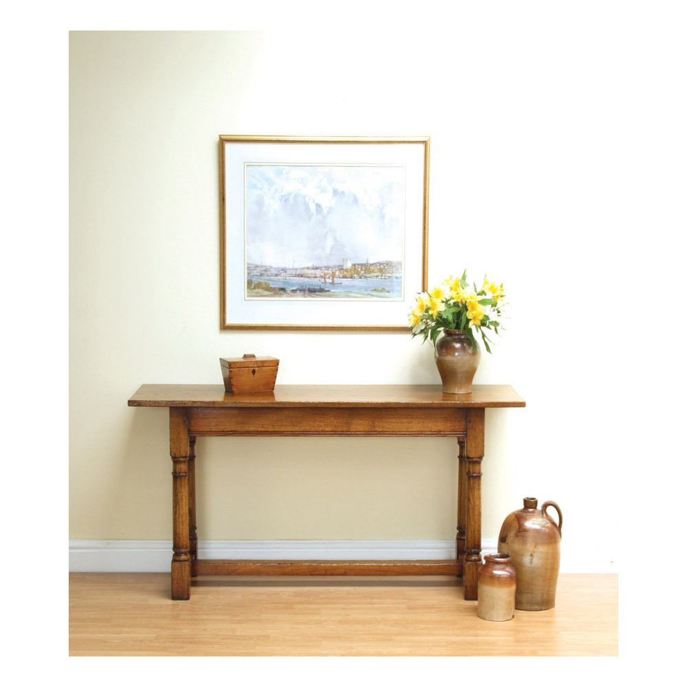 English Oak Sofa Table