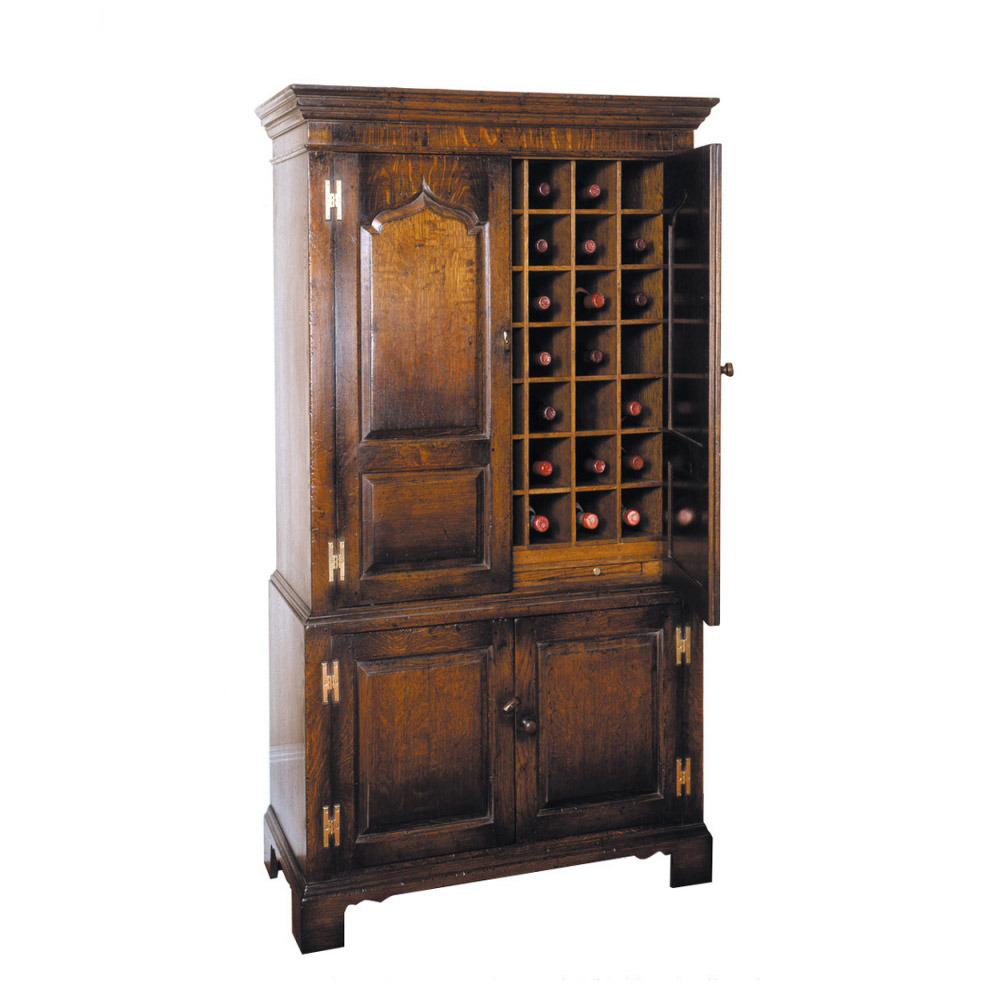 Oak Wine Storage Cupboard