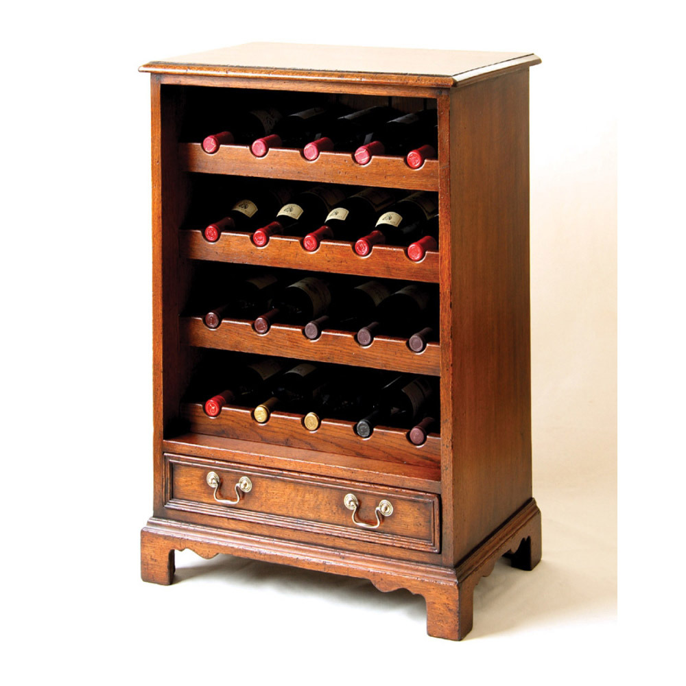 English Oak Wine Storage Rack