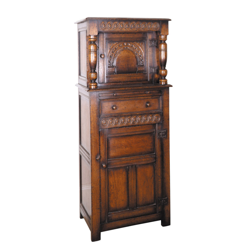 Oak Miniature Court Cupboard