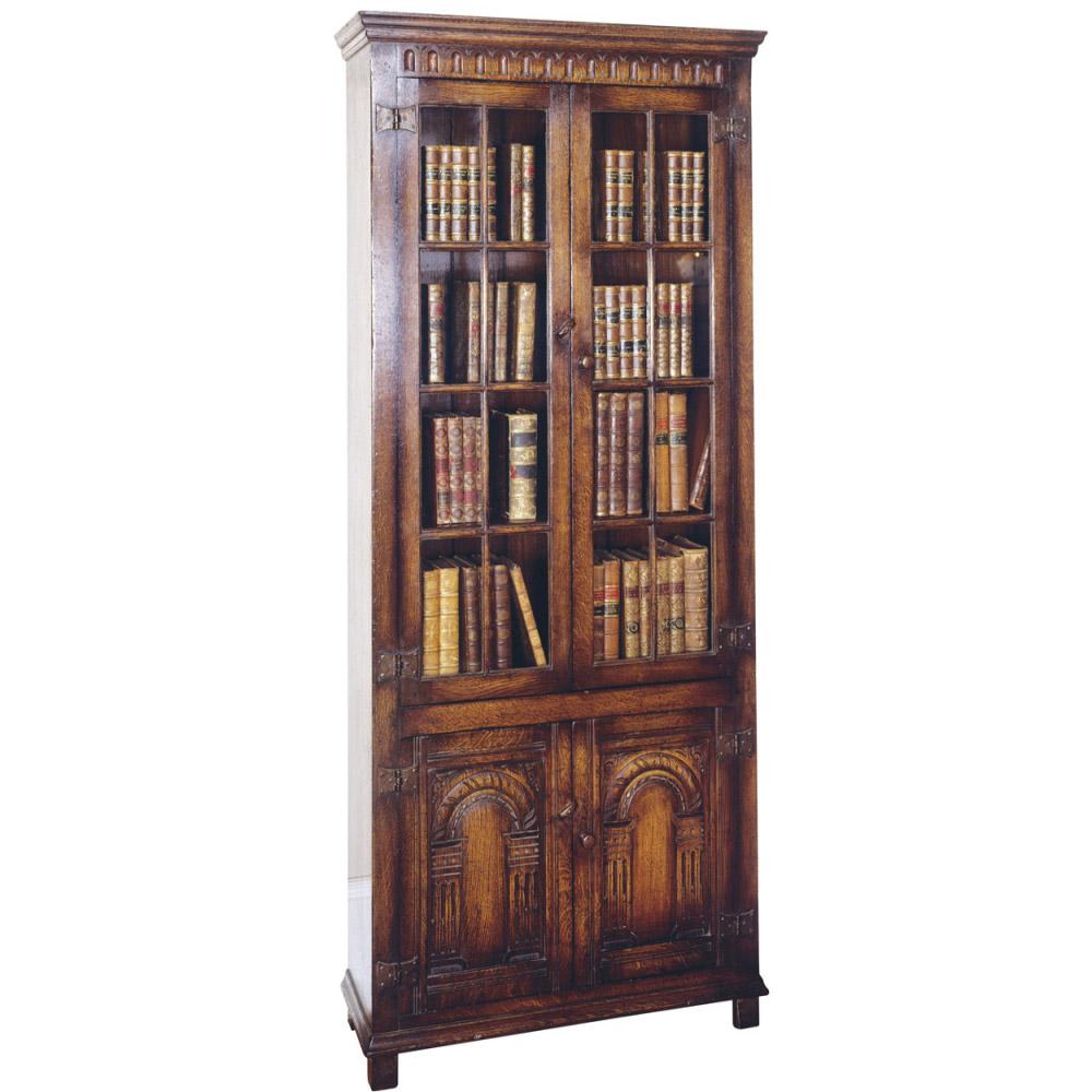 English Oak Bookcase