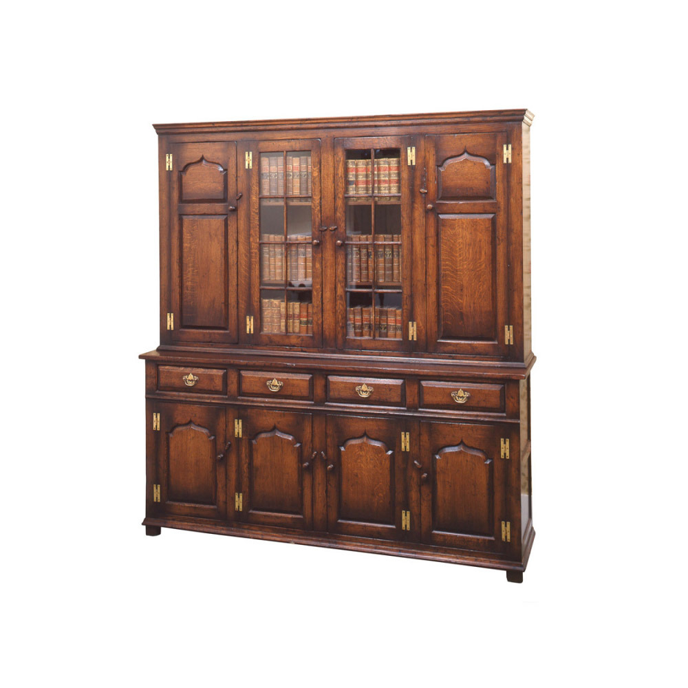 English Oak Cabinet / Bookcase