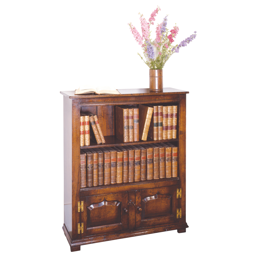 english oak bookcase 1 titchmarsh goodwin. Black Bedroom Furniture Sets. Home Design Ideas