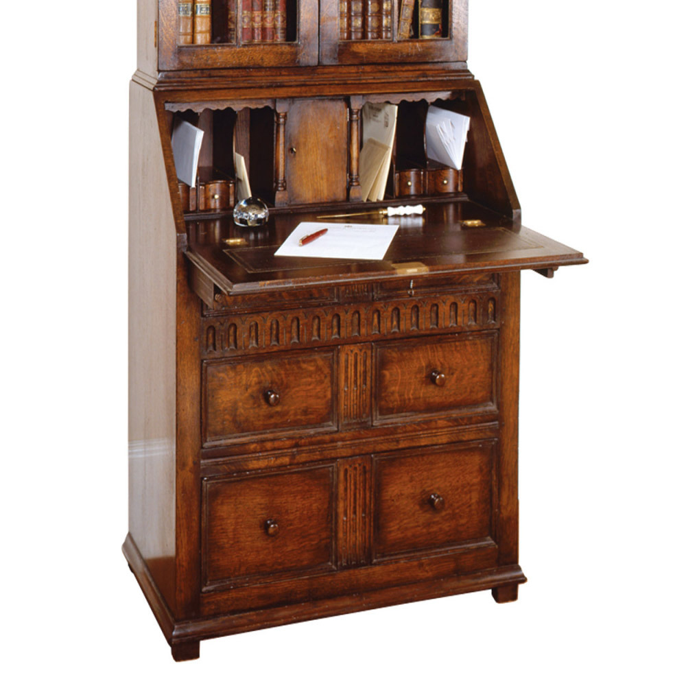 English Oak Bureau (No bookcase)