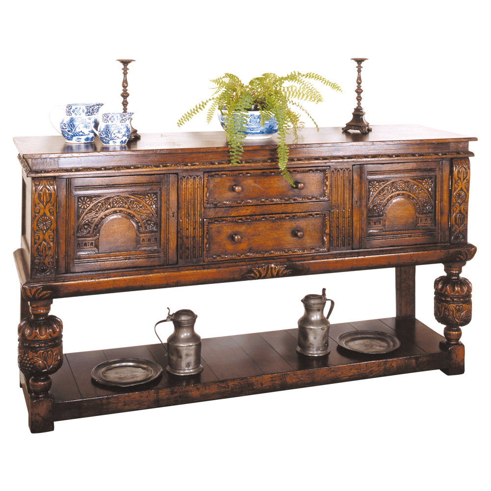 English Oak Sideboard